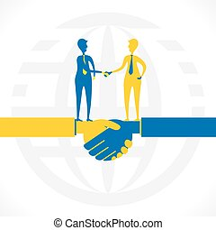 Socio o relación de negocios