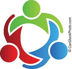 Socios de diseño de logo de negocios 3