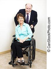 Socios de negocios, discapacidad