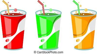 soda, bebidas