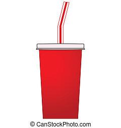 soda, taza