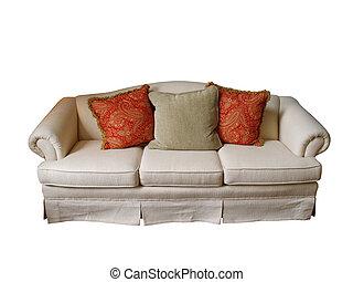 Sofa aislado
