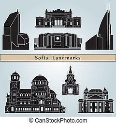 Sofia marca y monumentos