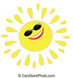 Sol alegre