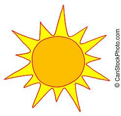 Sol caliente