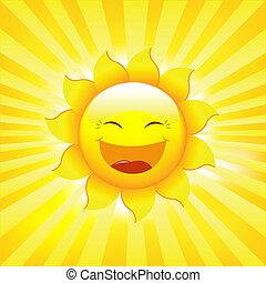 Sol y rayos