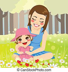 sola familia, madre
