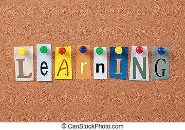 sola palabra, aprendizaje