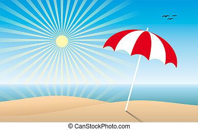 soleado, playa