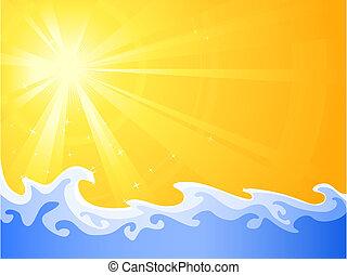 Solecito de verano y relajación fresca