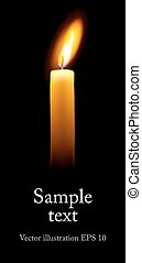 solo, candle.