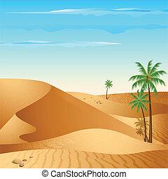 solo, desierto