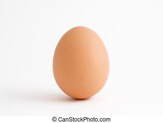solo, huevo blanco