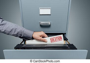 Solución de negocios