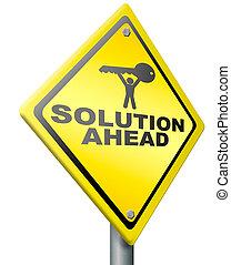 Solución para resolver problemas