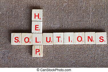 soluciones, ayuda