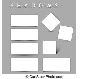sombra, conjunto, evctor, efectos