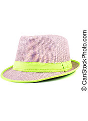 Sombrero de fondo blanco
