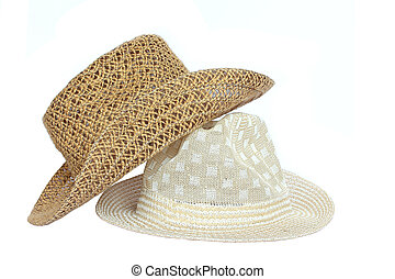 Sombrero de fondo blanco.
