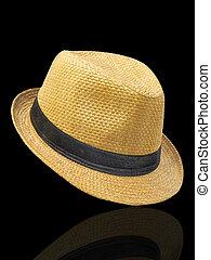 sombrero de paja, fedora