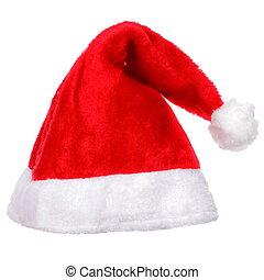 sombrero, santa, navidad