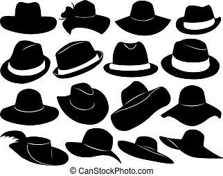 Sombreros ilustrados