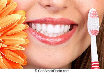 Sonrían y dientes