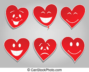 sonrisa, corazones