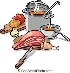 Sopa de cocina
