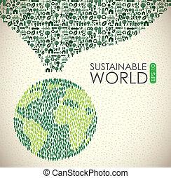 sostenible, mundo
