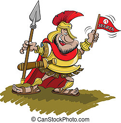 spartan, tenencia, lanza