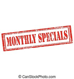 specials-stamp, mensualmente