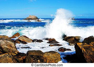Spray oceánico