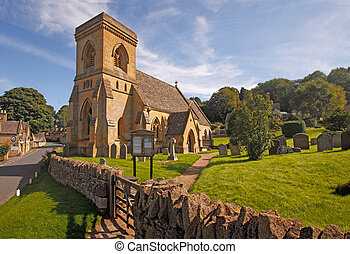 St Barnabas Church Snowshill