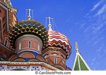 St. Basil catedral. Moscú. Rusia.