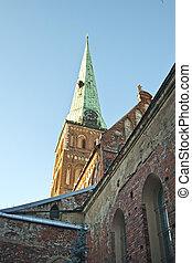 St. James Catedral en riga, Letonia