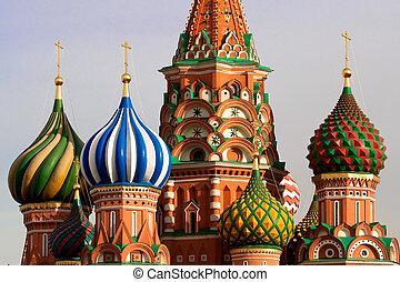 St. La catedral de Basil. Moscú, Rusia