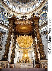 St. Peters basilica (Roma, Italia)