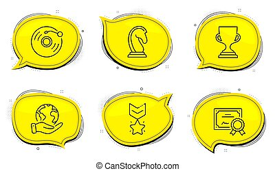 star., premio, taza, set., música, ganador, medalla, clasificación, registro, vinilo, iconos, mercadotecnia, estrategia, signo., trofeo, vector, retro