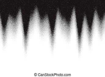 stipple, dotwork, puntos, plano de fondo, negro, blanco, dispersado, gradiente