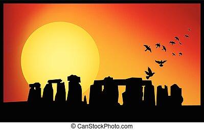Stonehenge Twilight