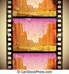 Strip de películas occidentales