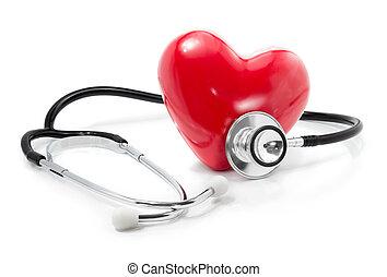 su, heart:, escuchar, asistencia médica