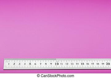 su, metal, espacio, superscape, escala, plano de fondo, copia, text., rosa, regla