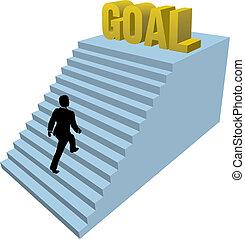 subidas, persona, achiev, pasos, empresa / negocio