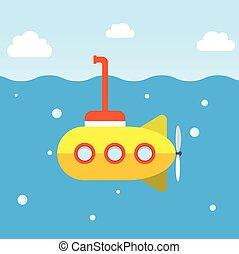 submarino amarillo explorar submarinos submarinos