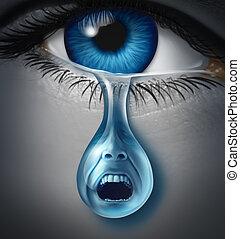 sufrimiento, angustia