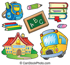 Suministros escolares colección 1