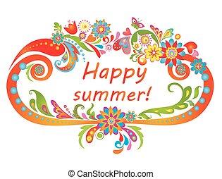 summer!, feliz