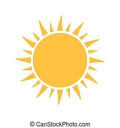 Sun. Ilustración de vectores